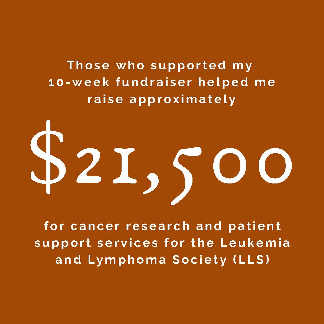 On NonProfit Fundraising: Supporting the Leukemia & Lymphoma Society