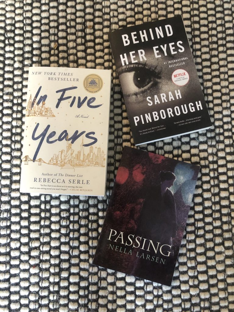 reading book list In Five Years Behind Her Eyes Passing The Flatshare